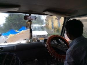 Wild taxi ride to McLeod Ganj