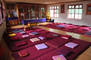 Tushita Meditation Room