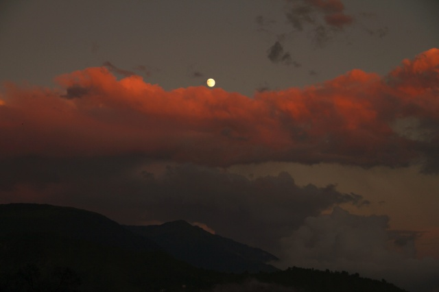 McLeod Ganj moonrise