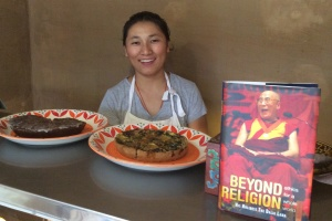 Lhamo and her delicious pastries and cakes