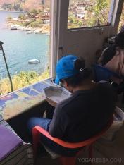 Artist's office view