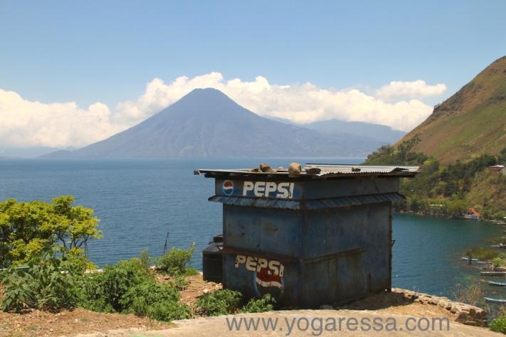 Lake-Atitlan-Volcano