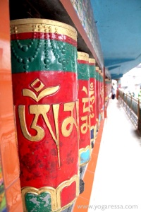 McLeod Ganj Prayer Wheels