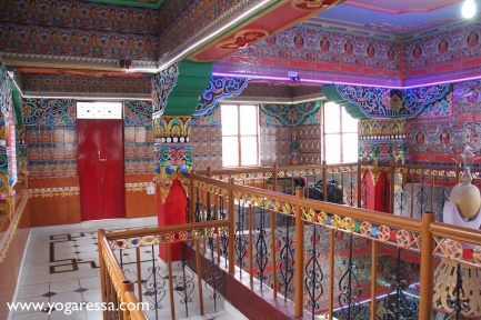 McLeod Ganj stupa