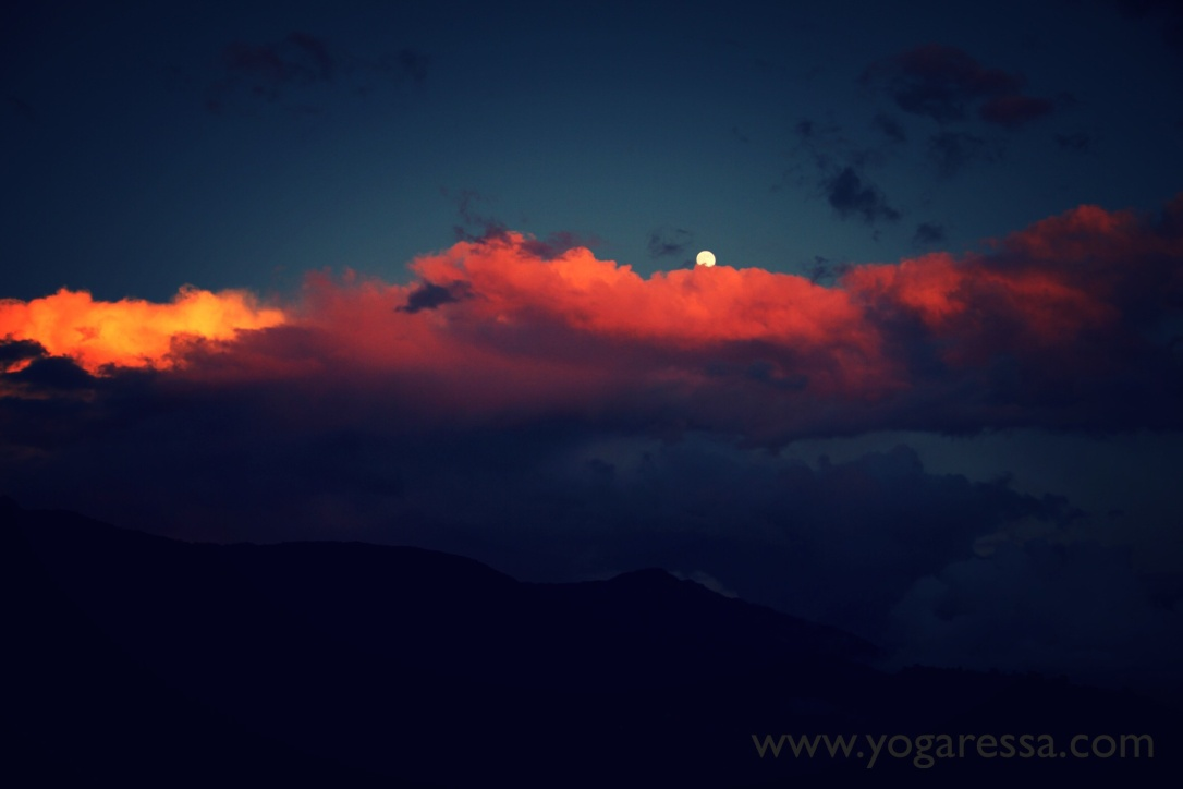 McLeod-Ganj-Moonrise