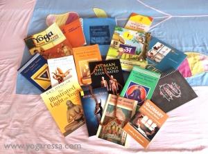 Yoga-study-books