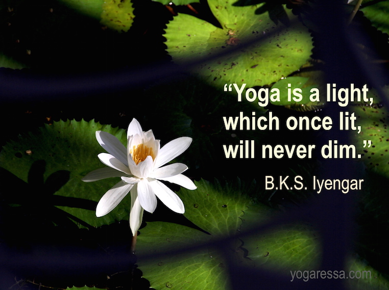 Iyengar-quote-light-yoga