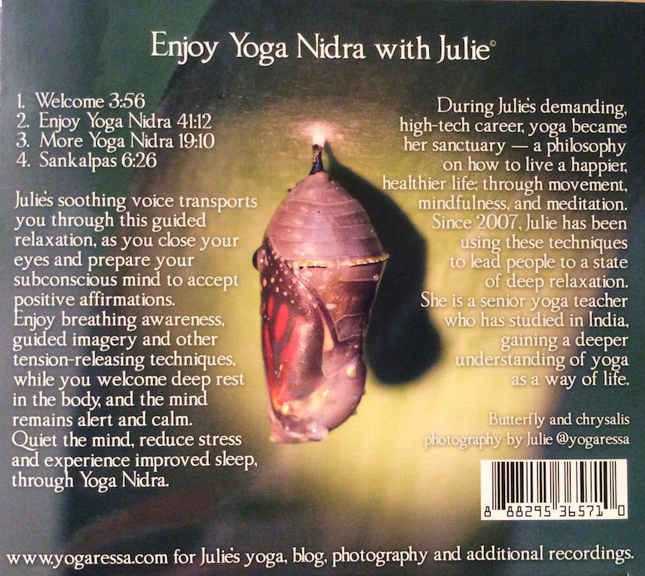 Yoga Nidra CD Yogaressa