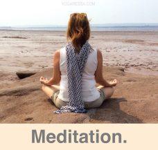 Meditation-yogaressa